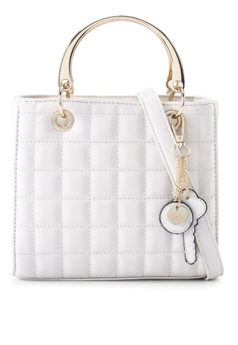 Call It Spring white Adoreyou Top-Handle Bag 489B7ACE3D546BGS_1