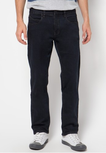 Rip Curl Straight Jean Washed Black Men Pants