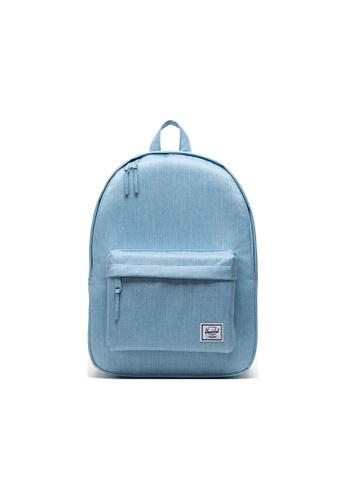 Herschel blue Herschel Classic Backpack - Light Denim Crosshatch 6F862AC25C57BCGS_1