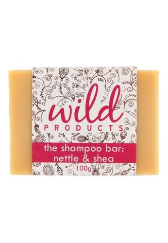 Wild Products The Shampoo Bar: Nettle & Shea (100g) 19383BEAF19434GS_1