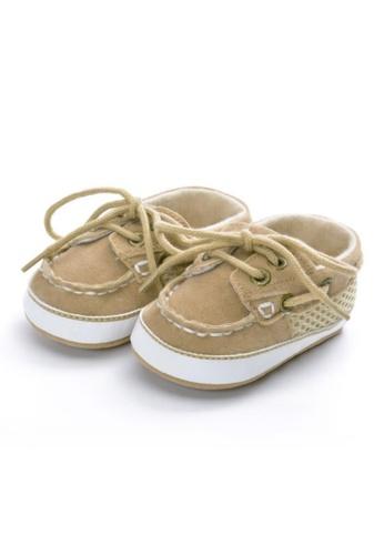 RAISING LITTLE brown Owen Shoes - Khaki A5BFCKSB3518EAGS_1