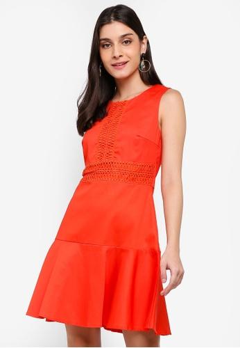 Angeleye red Gina Dress 689C3AA6AC9545GS_1