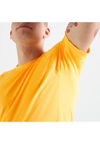Decathlon 100% Mesh Fitness T-Shirt - Orange - 8606556 BA3F0AAFB65389GS_1