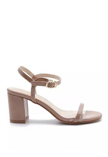 Twenty Eight Shoes 漆皮高踭涼鞋5691-6a 99164SHA5B0F93GS_1