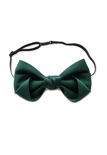 Kings Collection Classic Green Bow Tie (KCBT2025) 8AC94AC127B891GS_1