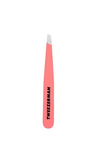 Tweezerman red Tweezerman Geranium Mini Slant Tweezer TW456BE72RBVSG_1