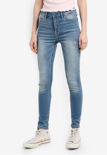 Hollister blue Light Jeans 01067AAB2571A3GS_1