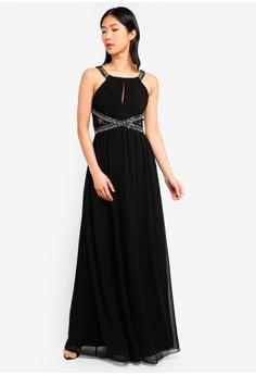 59% OFF Little Mistress Black Empire Maxi Dress S  126.90 NOW S  51.90 Sizes  12 14 16 d75092033