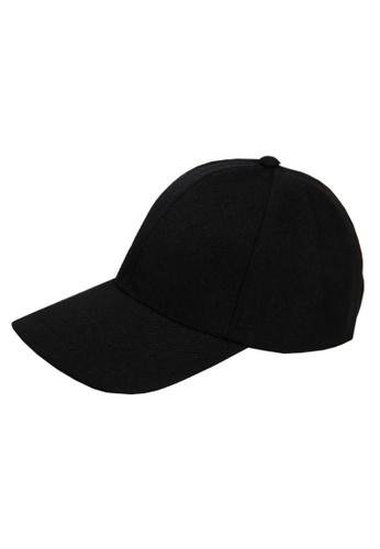 Buy Elitrend Unisex Baseball Cap in Black Online on ZALORA Singapore b96a0122bb9