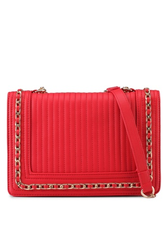 Dorothy Perkins red Red Chain Shoulder Bag A4357AC054AB80GS_1