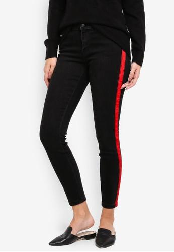 Vero Moda black Slim Fit Ankle Jeans 13C3DAAAA608CEGS_1
