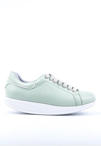 Twenty Eight Shoes 綠色 PEN WALKING 健康功能鞋 83946SH6AB4798GS_1