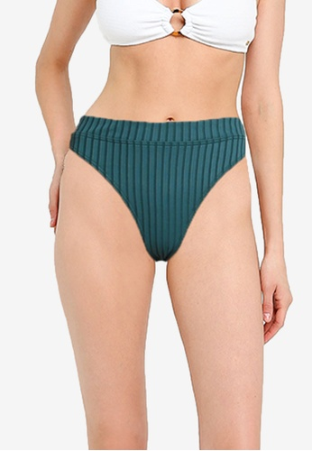 Billabong green Suns Out Maui Bikini Bottom 97653AACB2F8FBGS_1