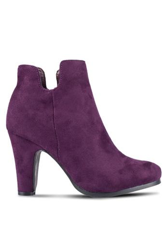 ZALORA purple MF Ankle Boots 3DD6FZZFB2BC43GS_1