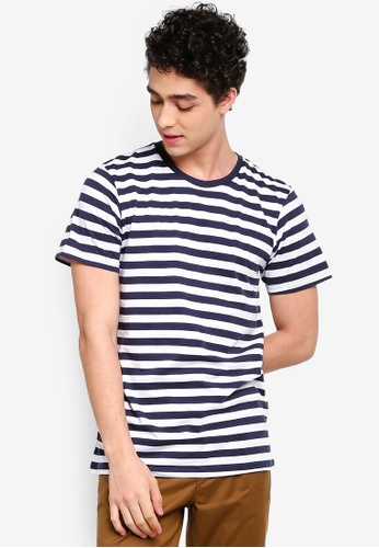 Cotton On 多色 短袖條紋T恤 621A1AA140E319GS_1