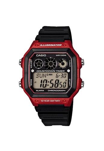 Casio black Casio Sports Digital Watch (AE-1300WH-4A) 2FE65AC863C977GS_1
