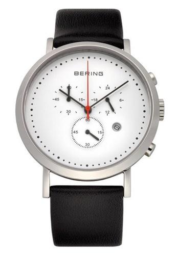 Bering silver Classic 10540-404 White 40 mm Men's Watch EDFA0ACF5F7152GS_1