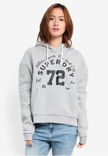 Superdry grey Oversize Urban Hoodie SU137AA0T1VYMY_1