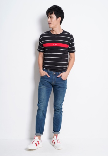 Hi Style blue Slim Fit Long Jeans 48705AAA70E7A0GS_1