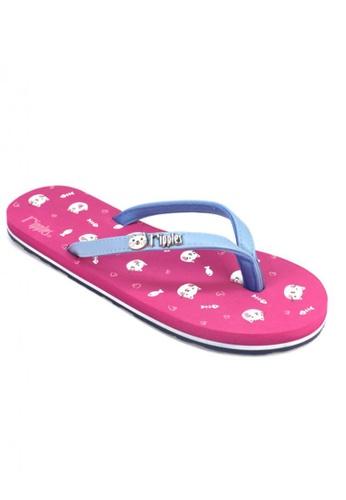 Ripples pink Kittens Flip Flops RI425SH95OPSSG_1