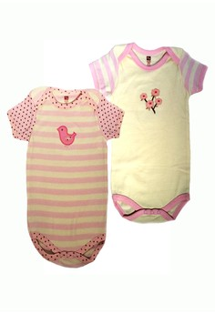 Hudson Baby 2 Bodysuits Baby Clothes