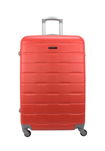 Royal McQueen red Royal McQueen 4 Wheels Spinner 24 inch Light Weight Hard Case Luggage QTH 6910 - RED 93AF7ACA26C073GS_1