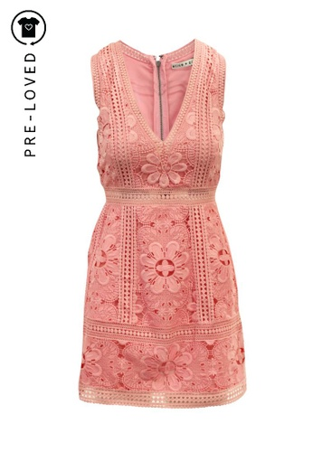 Alice + Olivia pink Pre-Loved alice + olivia Zula Party Dress. 5C715AACFD87A6GS_1