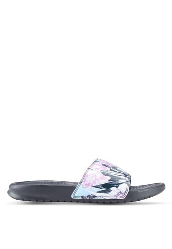 "Nike black Nike Benassi ""Just Do It."" Sandals C8CFCSH0891298GS_1"