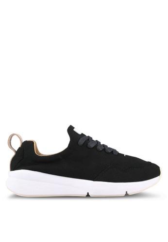 Rawrow black Wax 200 Chamude Sneakers RA312SH0RQMBMY_1