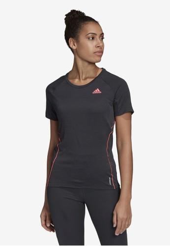 ADIDAS black runner tee women 39FD8AA823D587GS_1