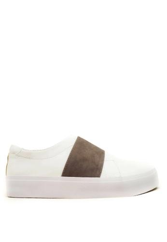 CDE white CDE Wang Men Sneaker White-Gray CD965SH57LKSID_1