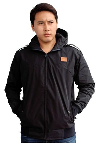 Eight Wardrobe black Eight Jacket Zip Hood JCM187 CEA24AA11A040CGS_1