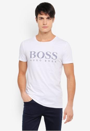 BOSS 白色 Tew T-Shirt - Boss Casual BO517AA0SRBFMY_1