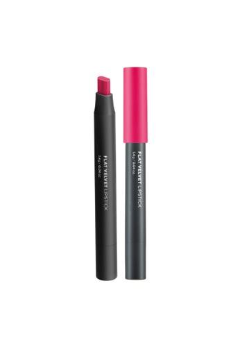 THE FACE SHOP pink Flat Velvet Lipstick Pk02 Be My Pink B26E2BE005BBA4GS_1