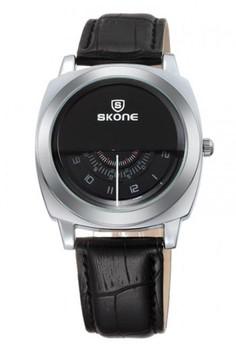 Skone Unisex Leather Strap Watch 9244