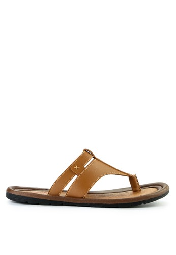 Watchout! Shoes brown Sandals Thong DF55CSH94398EFGS_1