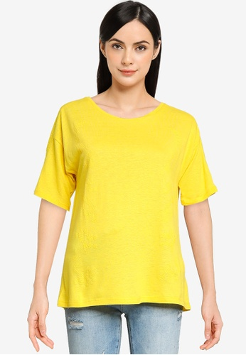 Desigual yellow Loose Fit T-Shirt B8A11AAD91A3CEGS_1