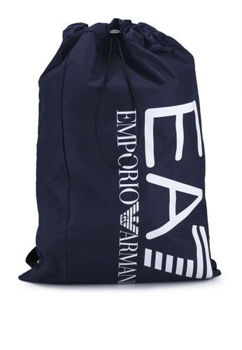 EA7 navy Train Core Sack Bag 2E6BAAC9741CDCGS_1