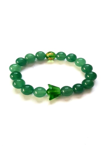 Be Lucky Charms green Feng Shui Jade Mantra with Money Ingot Bracelet BE436AC20XGTPH_1