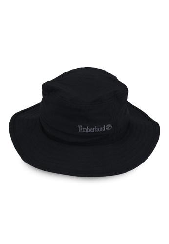 Timberland black Fisherman Hat With Upf B4EEEAC8C5FFD7GS_1
