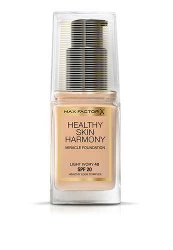 Max Factor beige Healthy Skin Harmony Miracle 40 Light Ivory 5159BBEC90B5C6GS_1