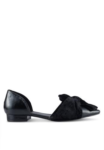 Velvet black Velvet Bow D'Orsay A65B5SH99F7D2DGS_1