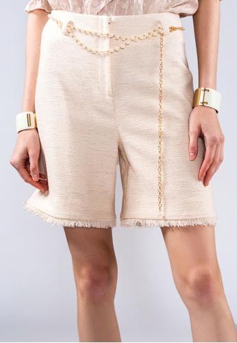 miss Viola beige TWEED BERMUDA 0E135AA5707927GS_1