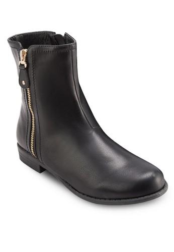 雙側esprit tw拉鍊短靴, 女鞋, 鞋
