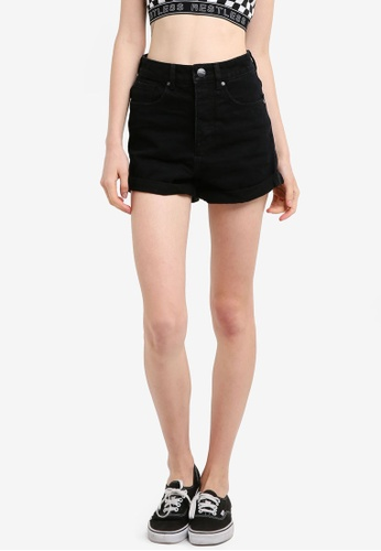 Factorie black Mom Shorts 64974AA316B52AGS_1