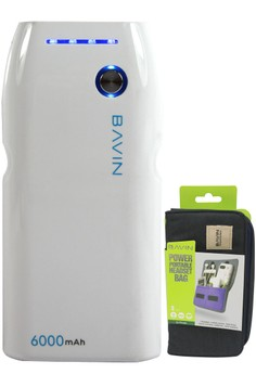 PC235 6000mAh Power Bank with FREE Bavin Big Pouch