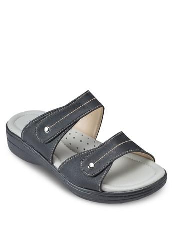 鈕扣寬帶涼鞋esprit home 台灣, 女鞋, 鞋