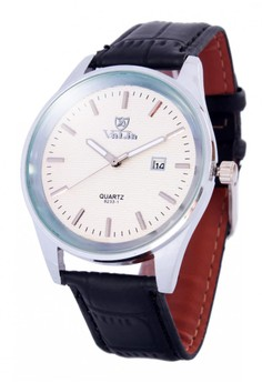 Valia Harvey Leather Strap Watch 8233-1