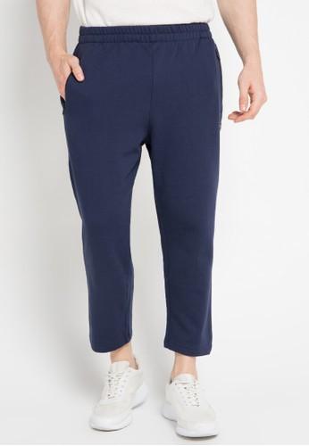 3SECOND blue Menlong Pants 3S395AA0VUS0ID_1