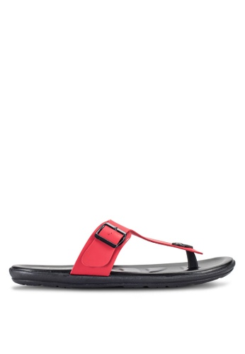 Louis Cuppers red Casual Sandals LO977SH12RDVMY_1